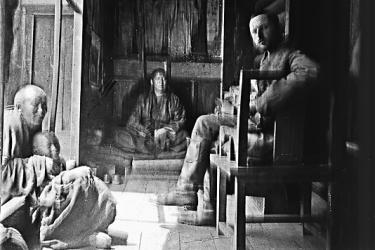 Le Tchraker lama, Jacques Bacot et moines